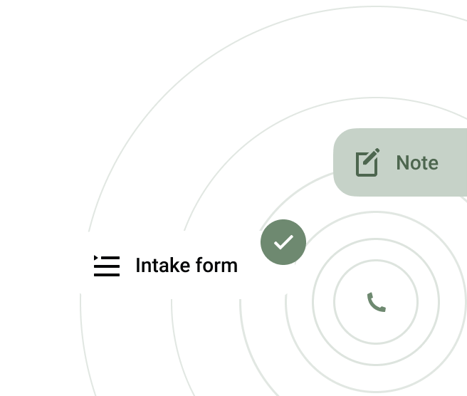 Intake form feature